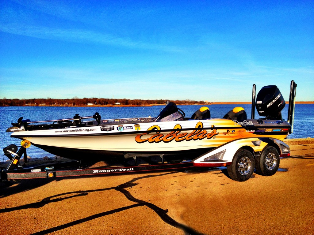 cabela s ranger for 2012 elite series dave smith fishing