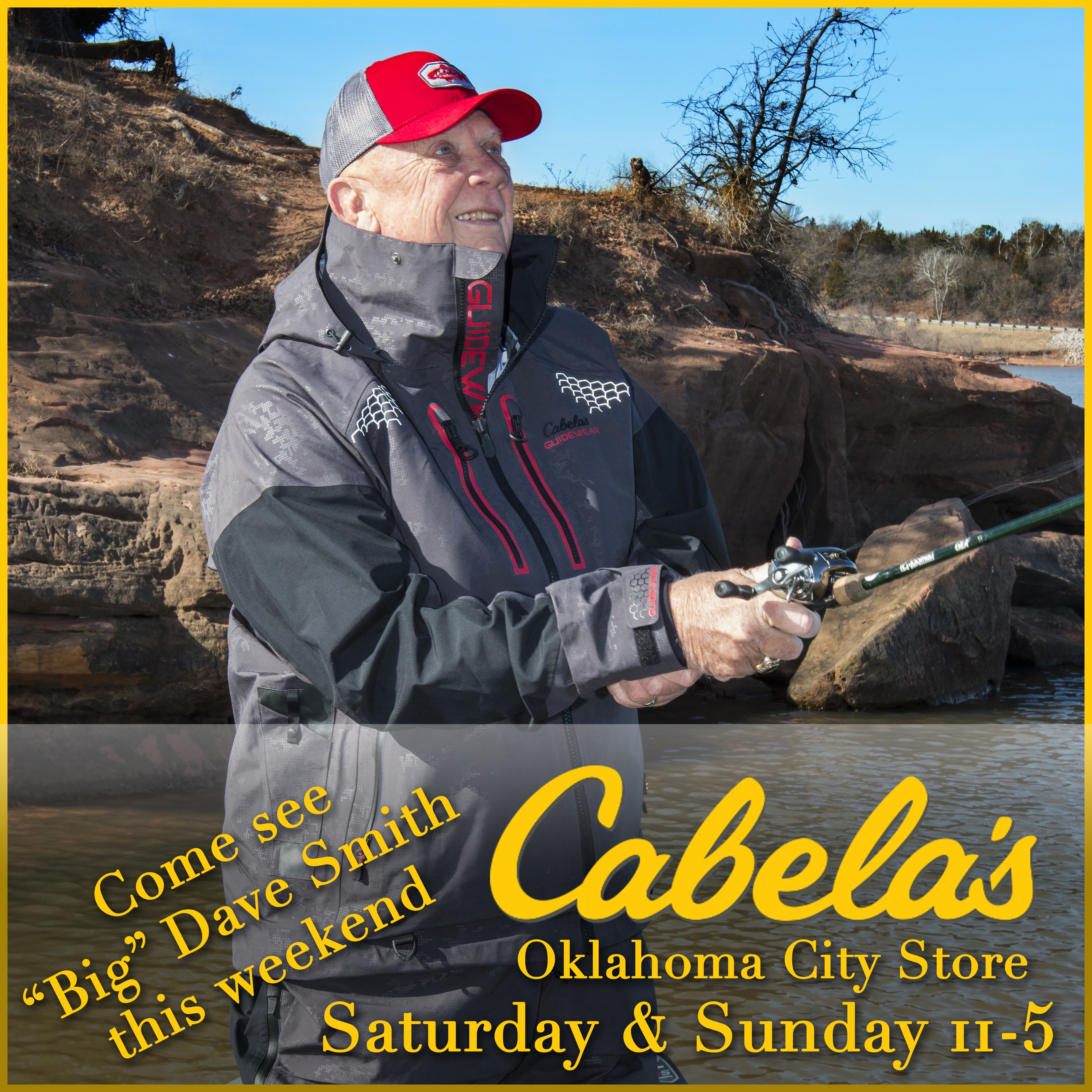 Come out and talk fishing with me this weekend at the for Cabela s ice fishing
